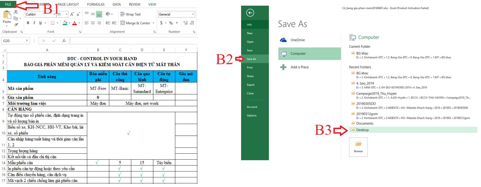 cách chuyển file excel sang pdf giữ nguyên định dạng